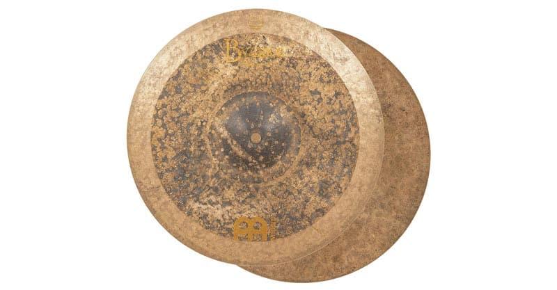 """Meinl Cymbals B14EQH 14"""" Equilibrium Hi Hat, Matt Garstka Signature – Byzance Vintage"""