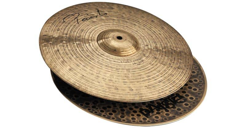 Paiste Signature Series Dark Energy MKI Hi-Hat Cymbal Pair 14""