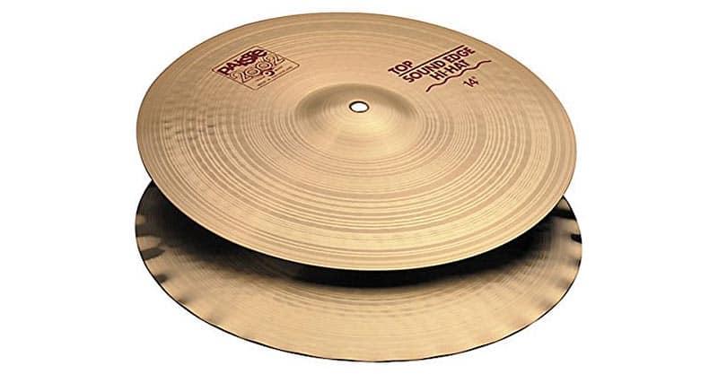 Paiste 2002 Classic Cymbal Sound Edge Pair Hi-Hat 14-inch