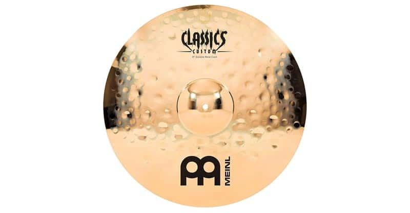 "Meinl CC19EMC-B 19"" Crash Cymbal – Classics Custom Extreme Metal"