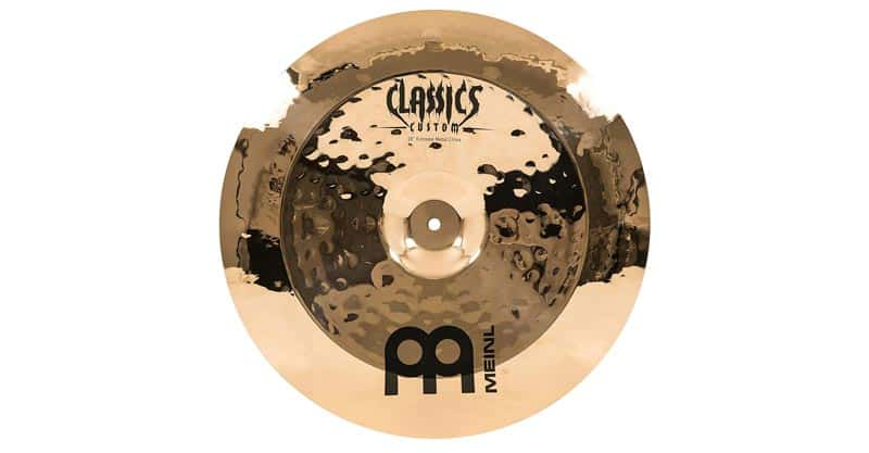 "Meinl CC18EMCH-B 18"" China Cymbal – Classics Custom Extreme Metal"
