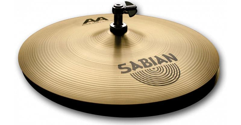 "Sabian AA 14"" Rock Hi-Hat Cymbals, Brilliant Finish"