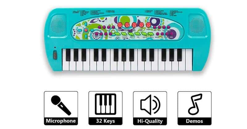 SAOCOOL Toddler Keyboard