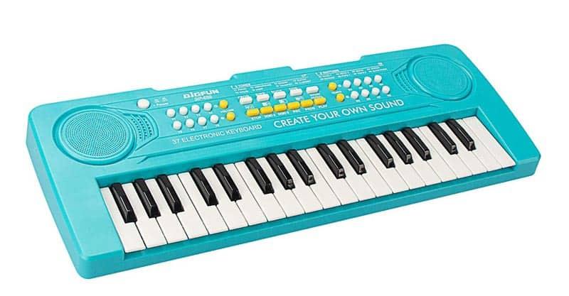 aPerfectLife Keyboard For Kids, 37 Keys Multifunction Portable Piano Electronic Keyboard