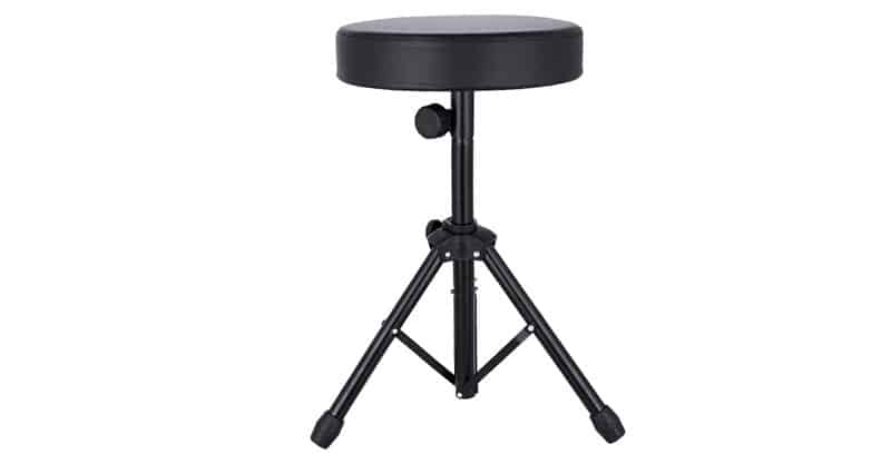 Flyerstoy Drum Thrones Adjustable Padded Drum Stool With Anti-Slip Feet For Adults And Kids