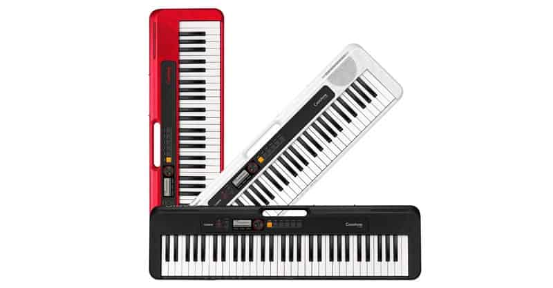 Casio Casiotone CT-S200WE 61-Key Portable Keyboard