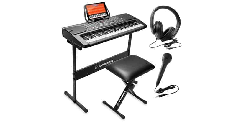 Hamzer 61-Key Portable Electronic Keyboard