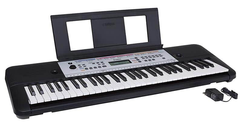 Yamaha YPT-260 61-Key Portable Keyboard With Power Adapter