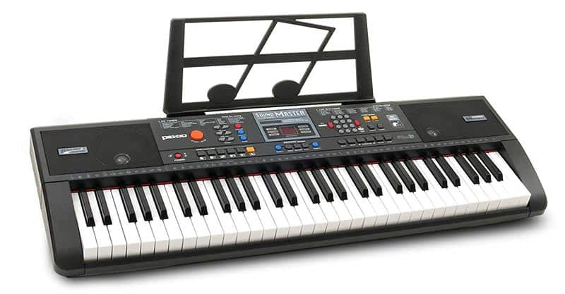 Plixio 61-Key Digital Electric Piano Keyboard