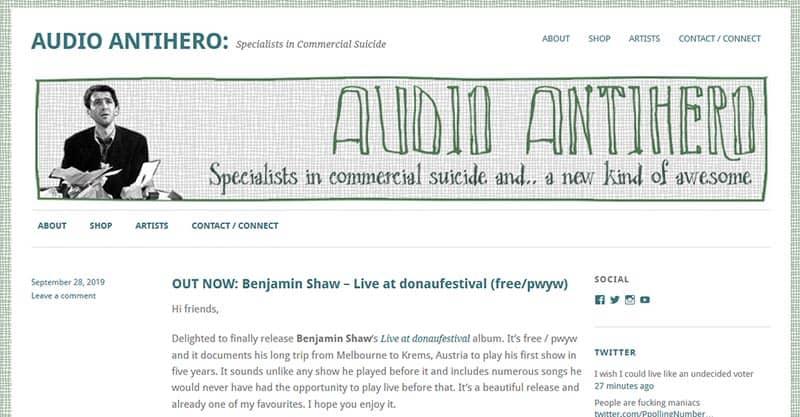 Audio Antihero