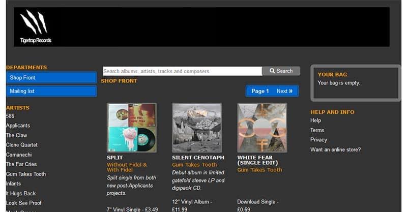 Tigertrap Records