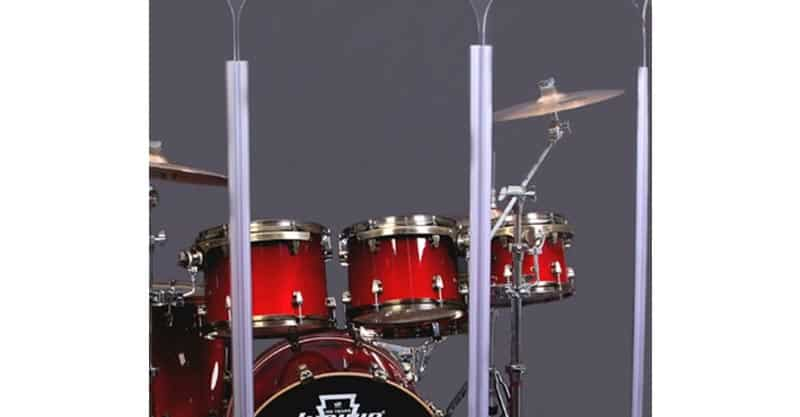 Drum Shield Drum Screen Panels DS5 Living 6 Panels