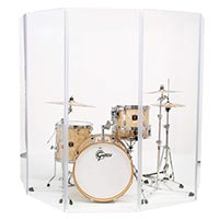 Curved Drum Shields Panels