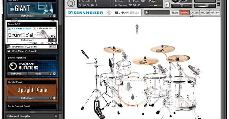 Sennheiser DrumMic'a!