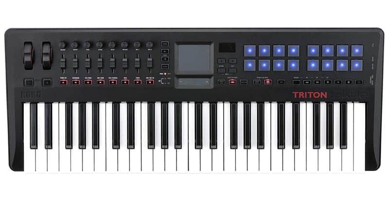 Korg TRTK49 USB MIDI Controller With TRITON Engine