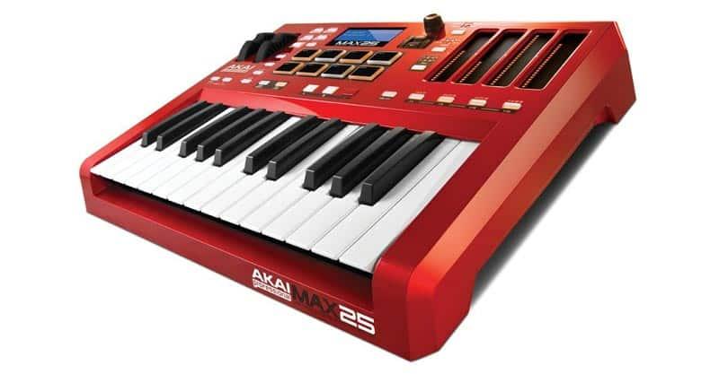 Akai Professional MAX25 | 25-Key USB MIDI Keyboard & Drum Pad Controller