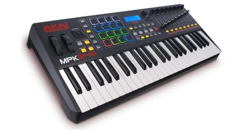 Akai Professional MPK249 | 49 Key Semi-Weighted USB MIDI Keyboard Controller
