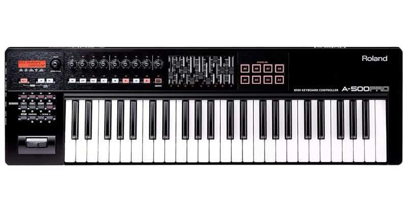 Roland A-500PRO-R 49-Key MIDI Keyboard Controller