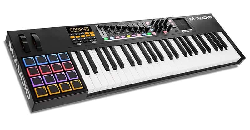 M-Audio Code 49 | USB MIDI Controller With 49-Key Velocity Sensitive Keybed