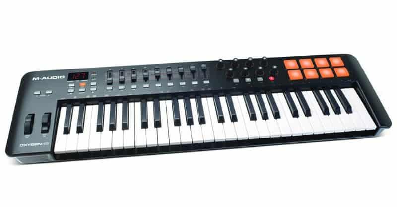 M-Audio Oxygen 49 IV | 49 Key USB/MIDI Keyboard