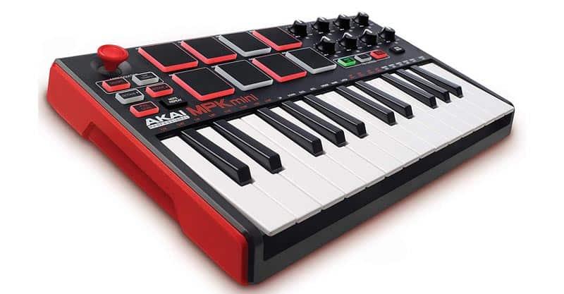 Akai Professional MPK Mini MKII – 25 Key USB MIDI Keyboard Controller