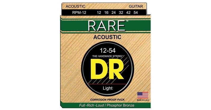 DR Strings RARE – Phosphor Bronze AcousticHex Core