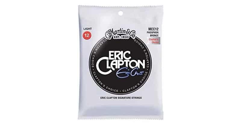 Martin MEC12 Clapton's Choice Phosphor Bronze Acoustic Guitar Strings