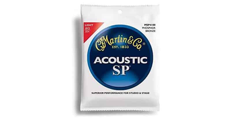 Martin MSP4100 SP Phosphor Bronze Acoustic Guitar Strings