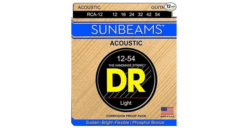 DR Strings Sunbeam – Phosphor Bronze Acoustic Round Core