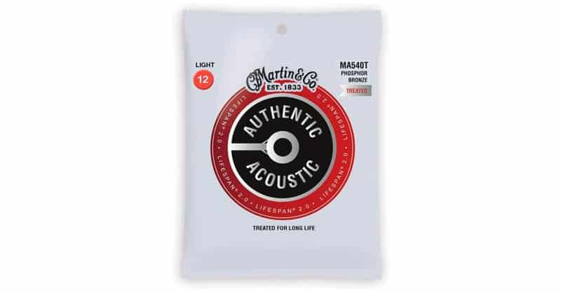 Martin Authentic Acoustic Guitar Strings – Lifespan 2.0 Treated