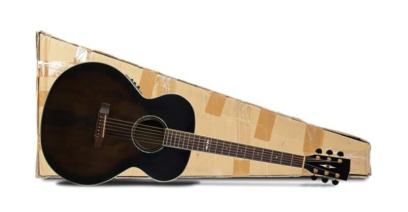 Choosing a courier for your guitar shipment