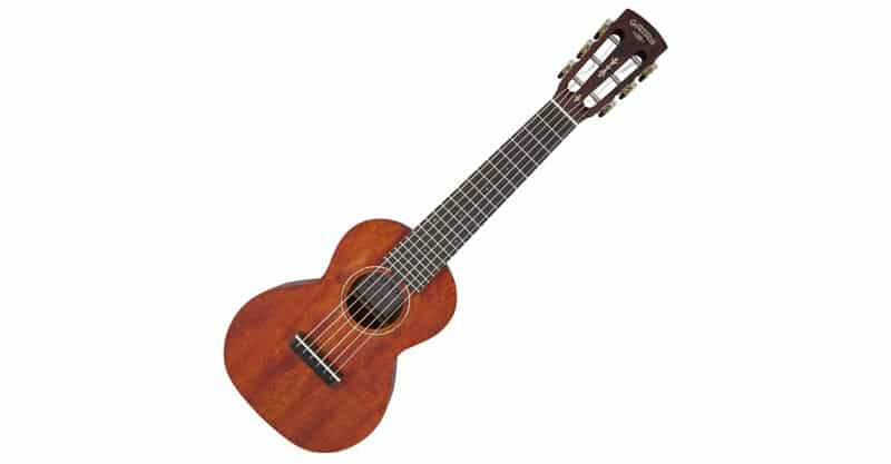 Gretsch G9126 Guitar-Ukulele – Honey Mahogany Satin