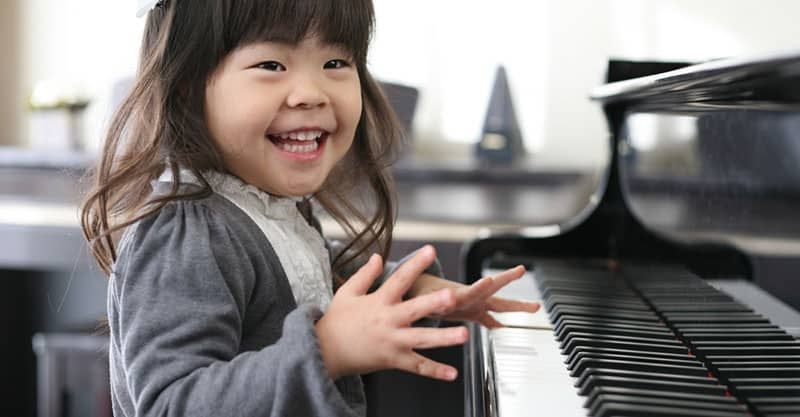 Piano finger movement practice exercises for both hands