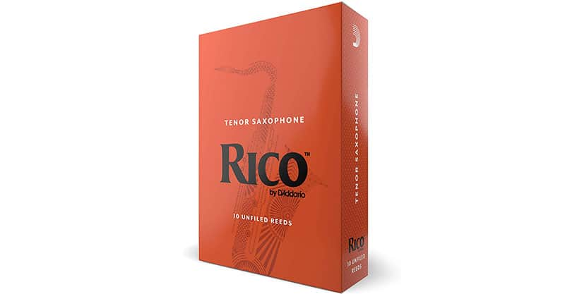 Rico by D'Addario Tenor Sax Reeds Strength 1.5, 10-pack