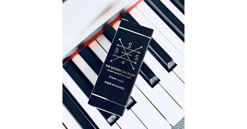 Boston Sax Shop Custom Tenor Saxophone Reeds 2.5 box of 5