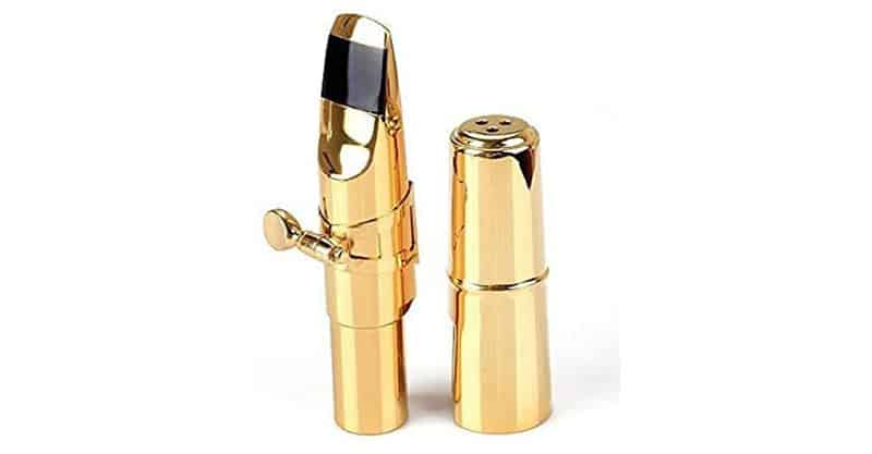 Aibay Plated Metal Tenor Saxophone Mouthpiece