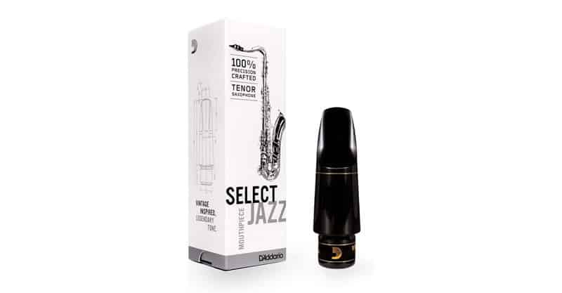 D'Addario Woodwinds Select Jazz Tenor Saxophone Mouthpiece