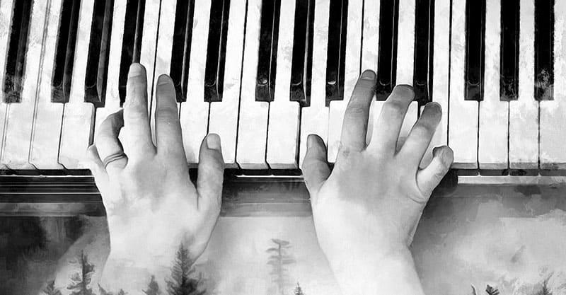 Fixing sticky keys on the piano