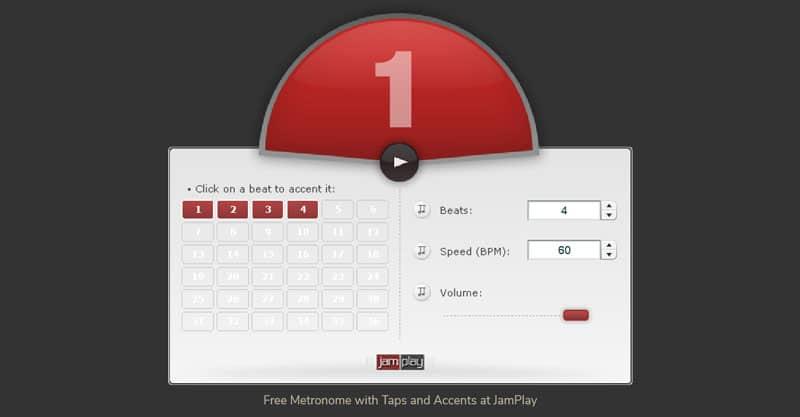 JamPlay Online Metronome