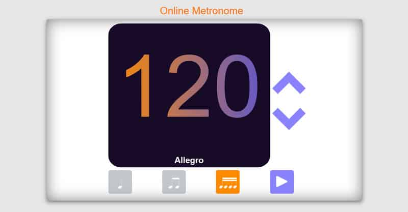 The Online Metronome