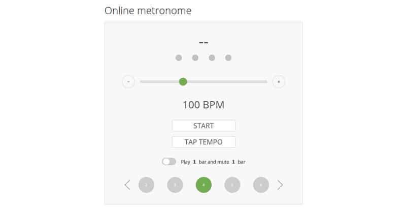 Musicca Online Metronome