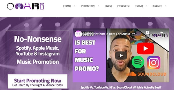 Omari MC Promotion Resources For Musicians