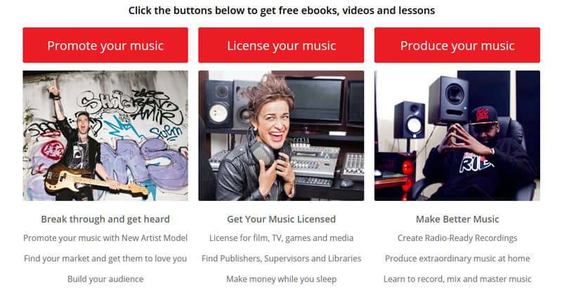 Music business eBooks, videos, lessons