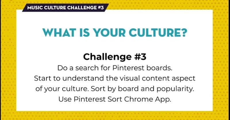 Create Your Music Culture module