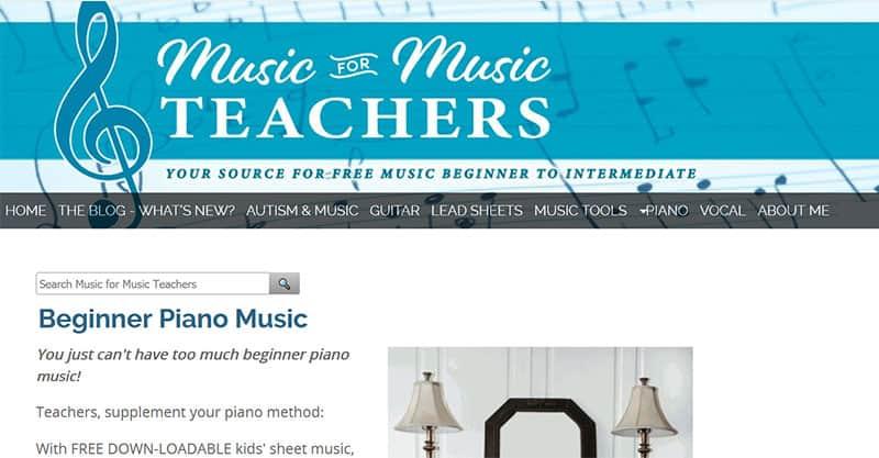 MusicForMusicTeachers.com
