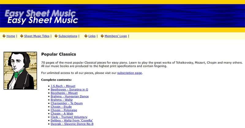 EasySheetMusic.com