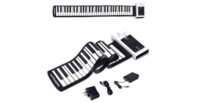 BABY JOY 61 Keys Roll Up Piano