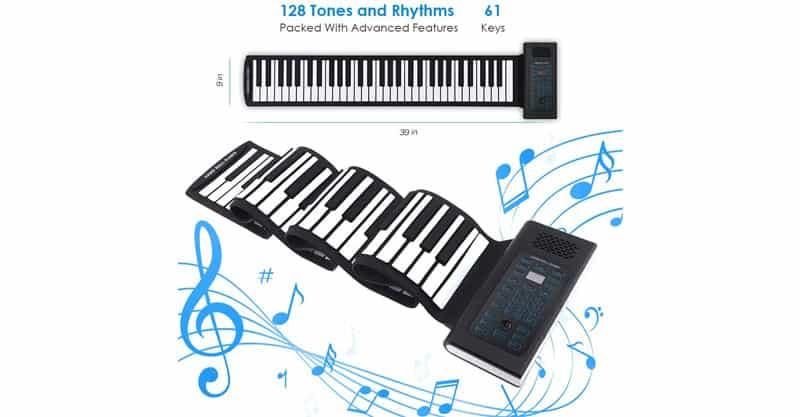 Igloo Essentials Folding Portable Keyboard