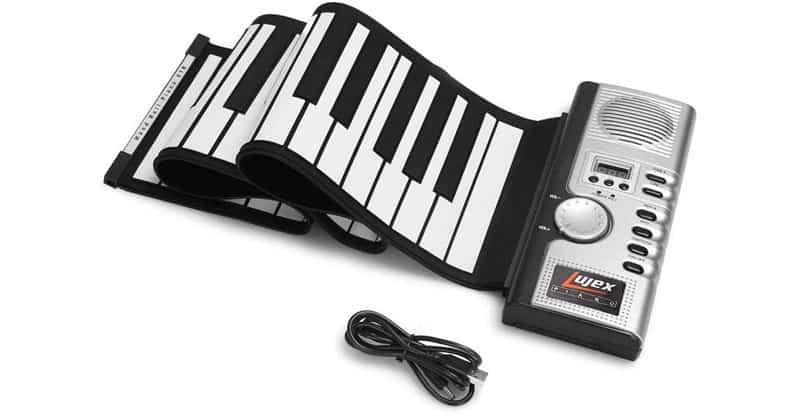 Lujex Foldable 61 Key Digital Roll Up Piano