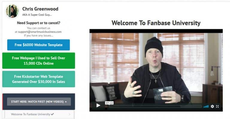 Fanbase University Review 2021; Is Chris Greenwood's Music Coaching Service Any Good?